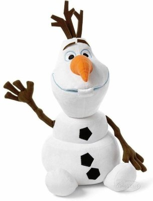 Boneco de Pelúcia Olaf Frozen (30Cm)