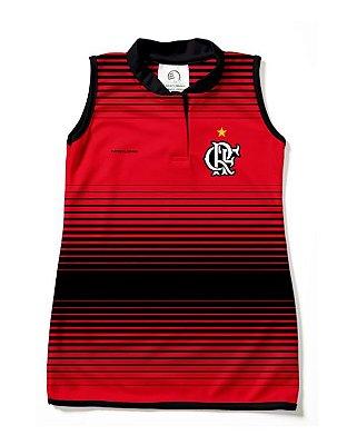 Vestido Flamengo Infantil Tubinho Torcida Baby