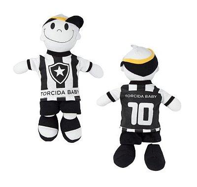 Boneco Torcedor Botafogo 25 cm - Torcida Baby