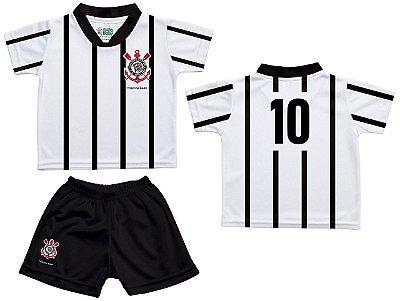 Conjunto Infantil Corinthians Dry Oficial - Torcida Baby