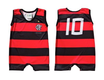 Macacão Bebê Flamengo Regata - Torcida Baby