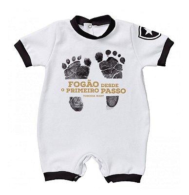 Macacão Bebê Botafogo Primeiro Passo - Torcida Baby