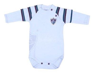 Body Bebê Fluminense Manga Longa Oficial