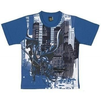 Camiseta Infantil Tip Top Batman Azul