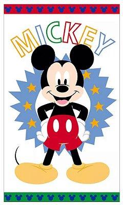 Toalha de Banho Infantil Mickey Felpuda - Santista