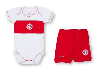 Conjunto Curto Internacional Body e Shorts Oficial