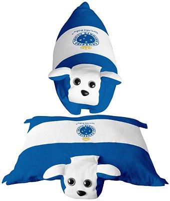 Travesseiro Cachorrinho Cruzeiro - Torcida Baby