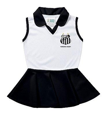 Vestido Infantil Santos Polo - Torcida Baby