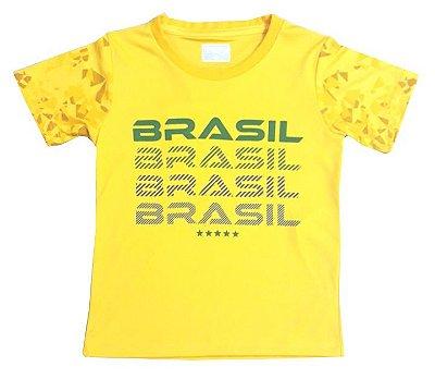Camiseta Brasil Infantil Revedor