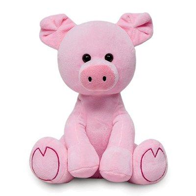 Pelúcia Meu Porquinho Rosa 25 cm Buba
