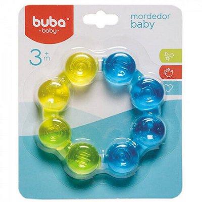 Mordedor Bebê Argola Água Azul Buba