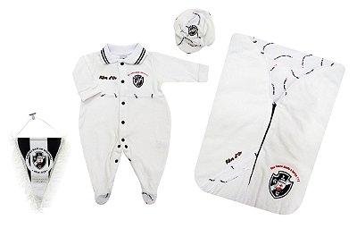 Kit Maternidade Plush Vasco com Saco de Dormir Oficial
