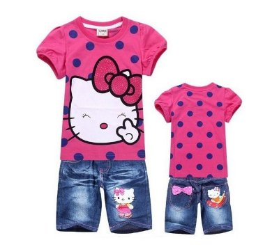 Conjunto Hello Kitty Pink