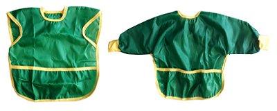 Kit Babador BLW Verde Curto e Longo com 2 Pçs