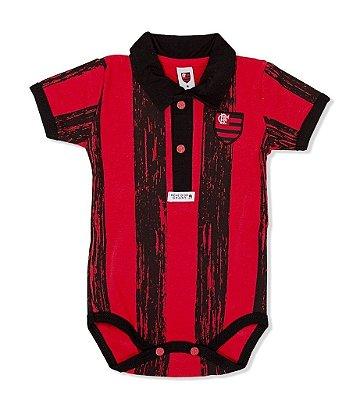 Body Flamengo Pólo Listras Revedor