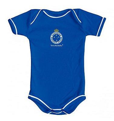 Body Cruzeiro Oficial Azul - Torcida Baby
