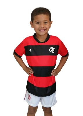 Camiseta Infantil Flamengo Listras - Torcida Baby