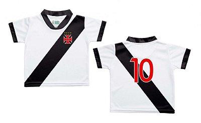 a49262f173 Camiseta Bebê Vasco Branca - Torcida Baby