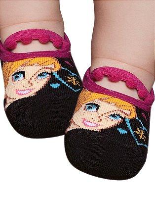 Meia Sapatilha Bebê Anna Frozen Puket (19 ao 22)