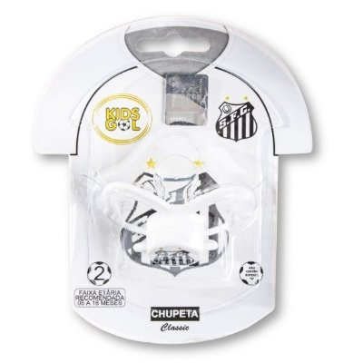 Chupeta Santos Classic Orto S2 Kids Gol