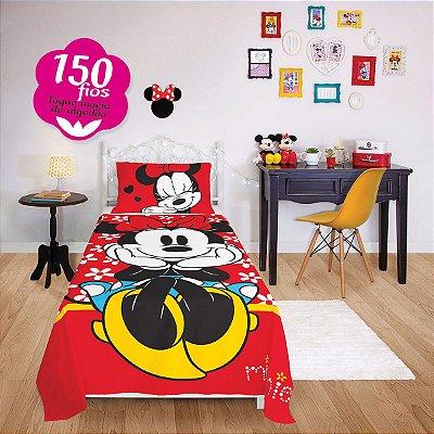 Jogo de Cama Infantil Minnie com 3 Pçs 1,50m x 2,20m - Lepper