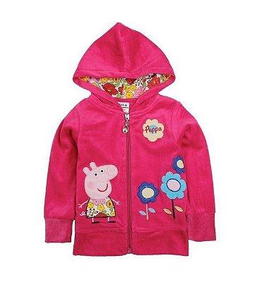 Blusa Peppa Pig Plush Pink