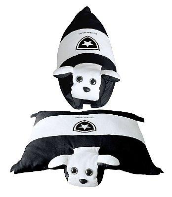 Travesseiro Cachorrinho Botafogo - Torcida Baby