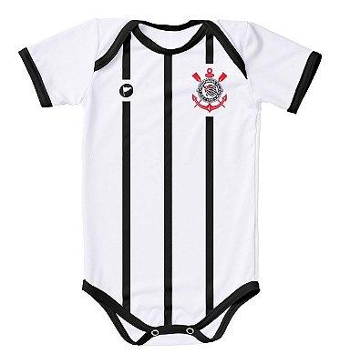 Body Corinthians Proteção UV Branco Oficial
