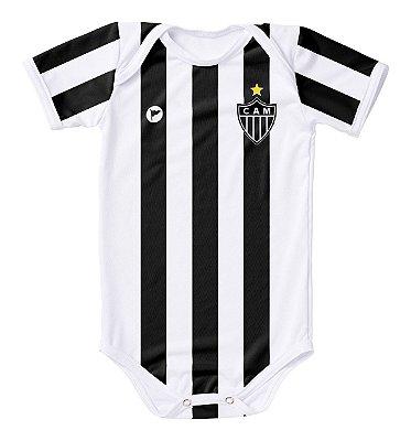 Body Atlético MG Proteção UV Listrado Oficial