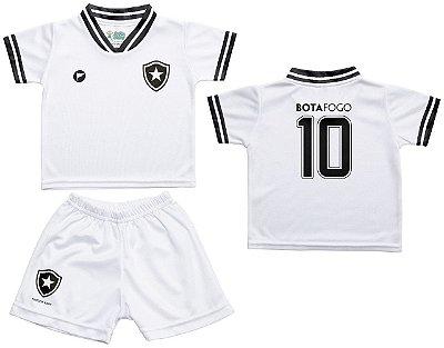 e3248182e8 Conjunto Botafogo Uniforme Infantil Branco - Torcida Baby