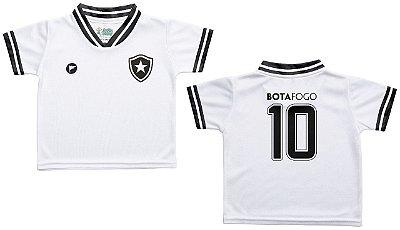 Camiseta Bebê Botafogo Branca - Torcida Baby