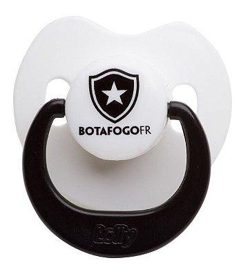 Chupeta Botafogo Silicone Bico Orto Tam 1 - Lolly