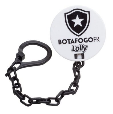Prendedor de Chupetas Botafogo - Lolly