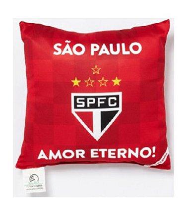 Almofada São Paulo Amor Eterno - Torcida Baby 25 x 20 Cm
