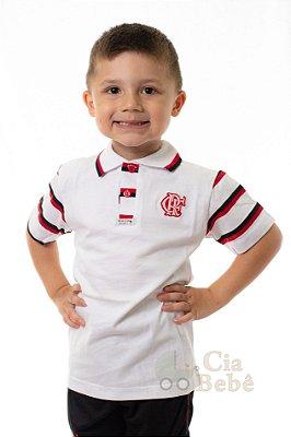 Camisa Polo Infantil Flamengo Revedor