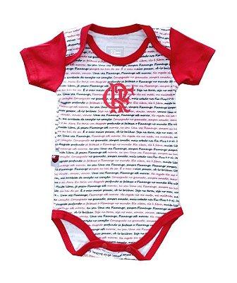 Body Bebê Flamengo Hino Oficial