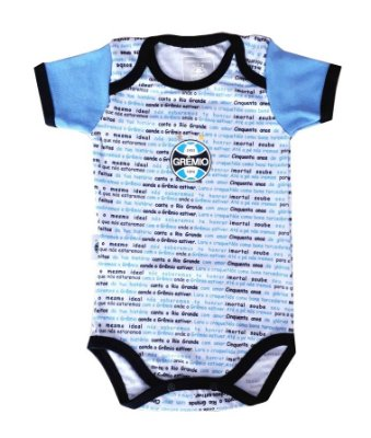 Body Bebê Grêmio Hino Oficial