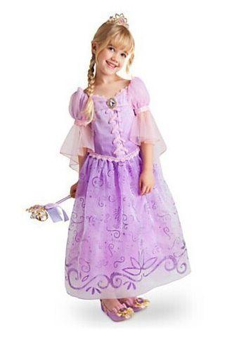 Vestido Fantasia Infantil Rapunzel