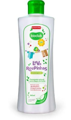 Detergente Líquido Lava Roupas Orgânico 500 ml Bioclub Baby