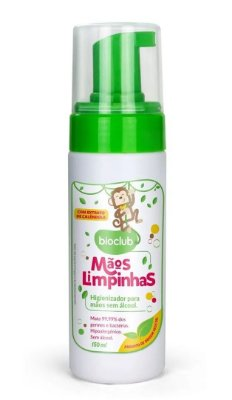 Higienizador Para Mãos Sem Álcool 150 ml Bioclub Baby