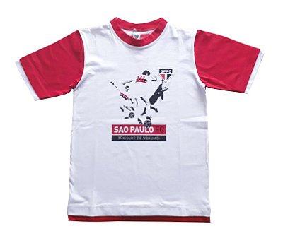 Camiseta Infantil São Paulo Tricolor do Morumbi Oficial