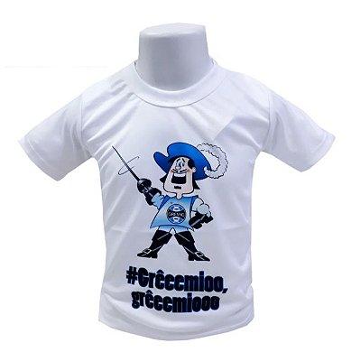 Camisa Infantil Grêmio Mascote Oficial