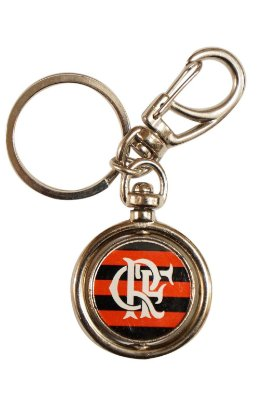 Chaveiro Flamengo Giratório Resina