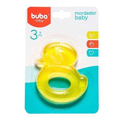 Mordedor Bebê com Água Patinho Amarelo Buba