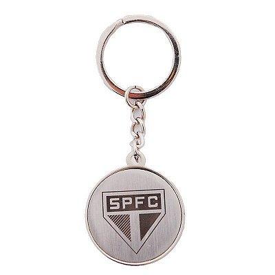 Chaveiro São Paulo Bola Escudo Oficial