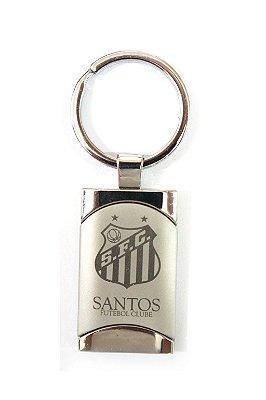 Chaveiro Santos Retangular Escudo Oficial