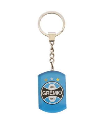 Chaveiro Grêmio Brasão Cristal Oficial