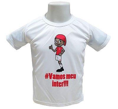 Camisa Infantil Internacional Mascote Oficial