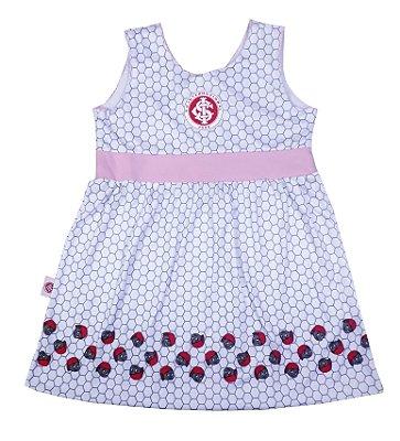 Vestido Bebê Infantil Internacional Mascote Oficial