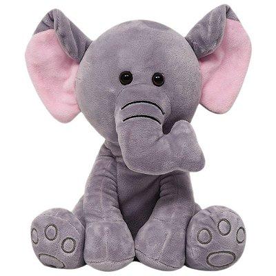 Meu Elefantinho Pelúcia 26cm Buba